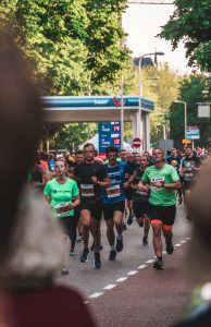 Marathon lopers in Nederland